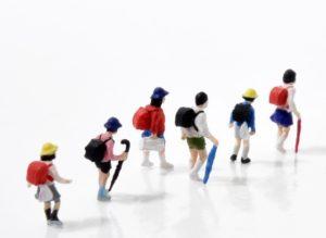小学生集団