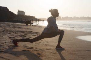 マラソンに向けて週2回ランニングと金tレ開始。